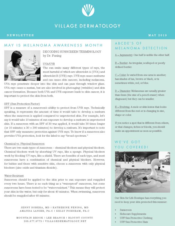 Patient Newsletter